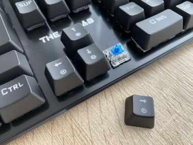 image Test du clavier mécanique gamer G-LAB Keyz CARBON V3 7