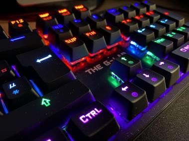 image Test du clavier mécanique gamer G-LAB Keyz CARBON V3 15