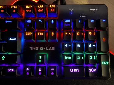 image Test du clavier mécanique gamer G-LAB Keyz CARBON V3 16