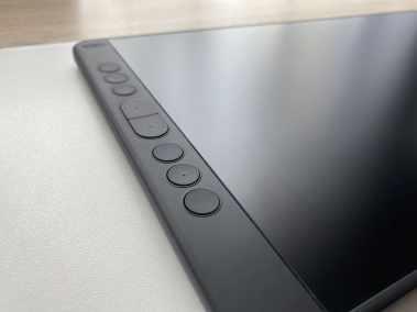 image Test de la tablette graphique avec écran Huion kamvas 13 12