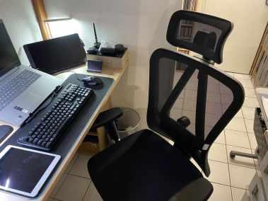 image Test d'une des meilleures chaises de bureau ergonomique de MFavour 06
