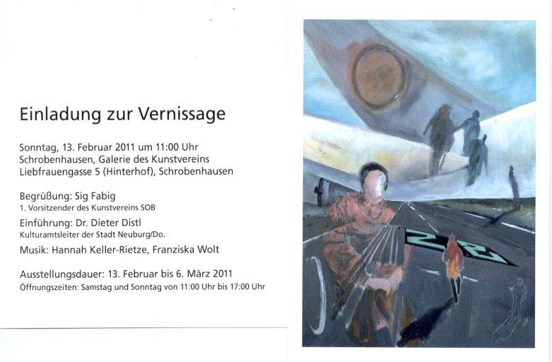 """""""Vanitas"""", Kunstverein Schrobenhausen, 2011"""