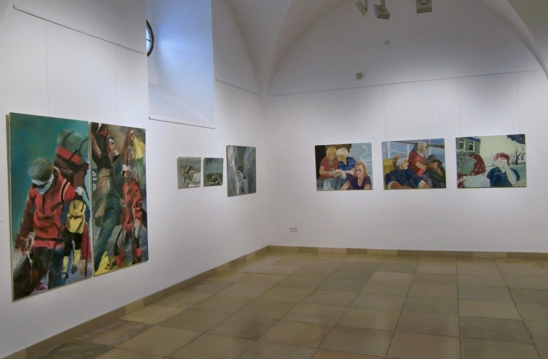 """""""Zurück nach vorn"""",  Städtische Galerie im Rathausfletz, Neuburg/Do."""