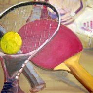 Tennis 40x50cm Acryl/LW 2016
