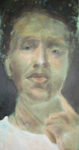 Afrikaner, 30x60, Acryl/LW, 2015