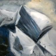 Im Eis Öl/LW 40x50cm 2012
