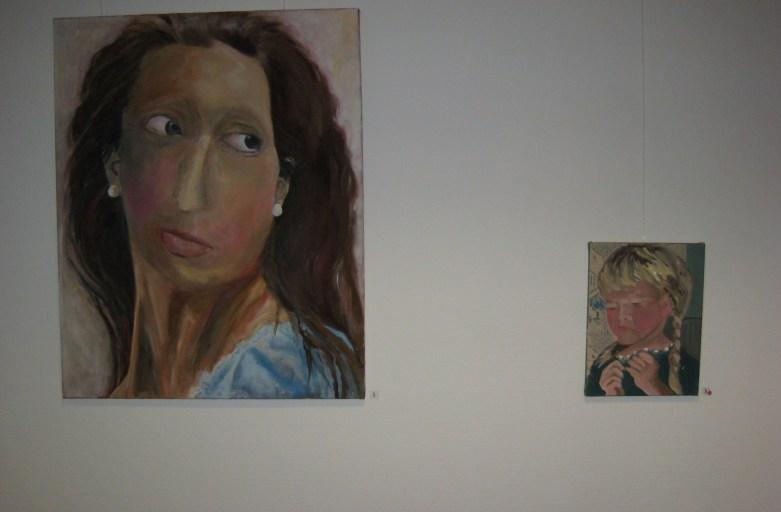2007 Volksbank Neuburg/Do.,Antlitze, Einzelausstellung