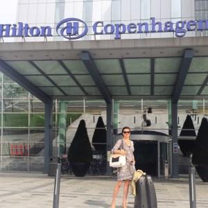 Hilton Copenhagen Airport - leaving for the Treasure - Change the World Tour