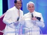 Pastor Chris and Pastor Benny Hinn