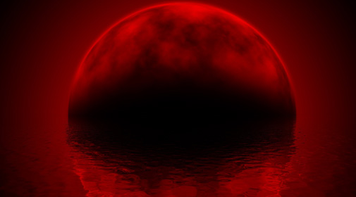 End Time Visions of Blood Moon, Falling Meteors, Rapture