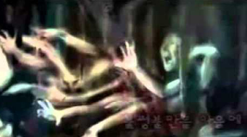 Girl Goes To Hell And Lives paints pictures of hell, hell pictures, Korean Girl paints hell is real