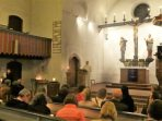 In der Erlöserkirche (Foto: Fritz Deschauer)