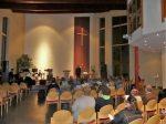 In der Freien evangelischen Gemeinde (Foto: Fritz Deschauer)