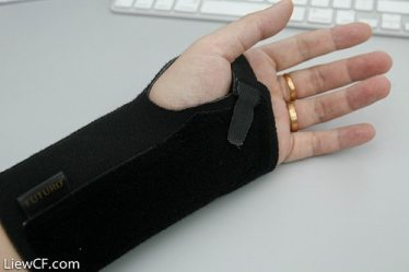 Wrist Brace 6393617505_f3a4fec19c by liewcf on Flickr
