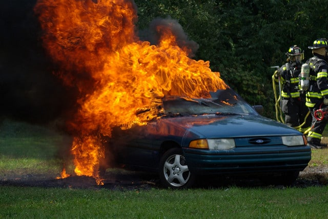 vehicle fires and how to avoid them