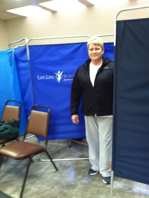 Lori Bruggenwirth at Lifeline Screening