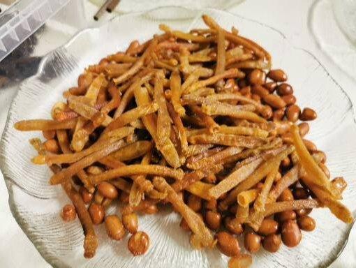 Jordnötter och seafood från Kina