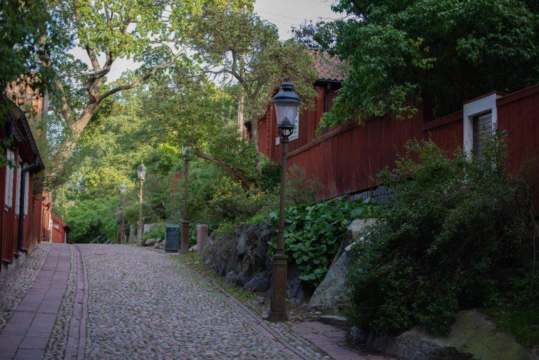 kullerstensgata på söder i stockholm