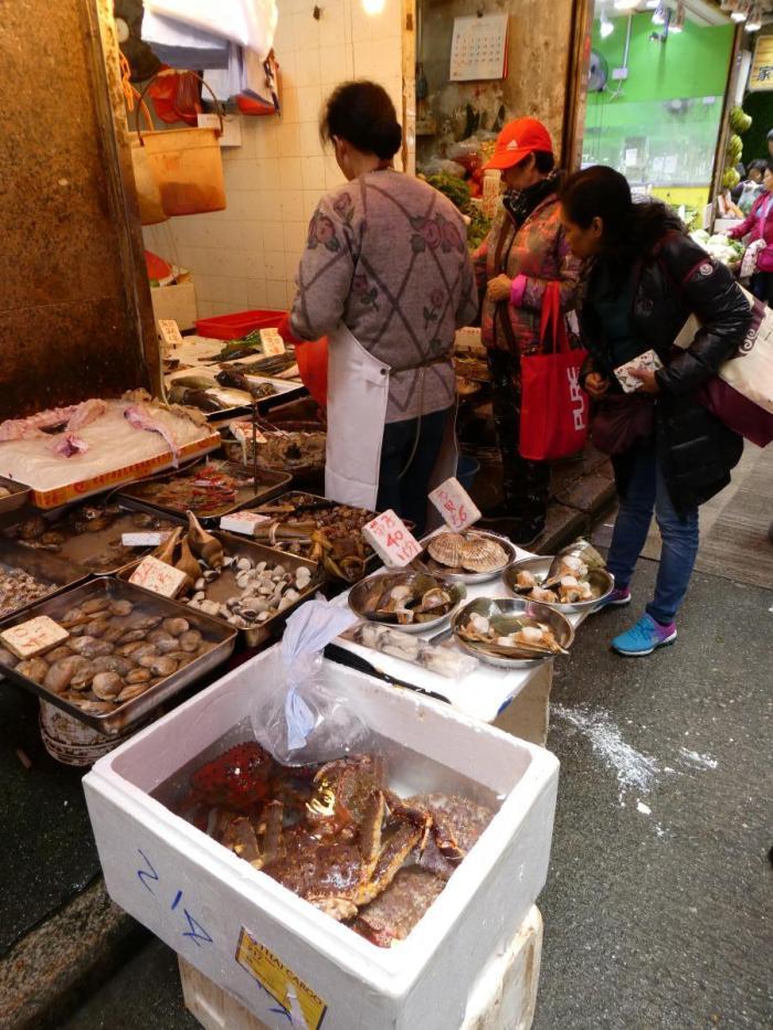 Wai Chan marknad