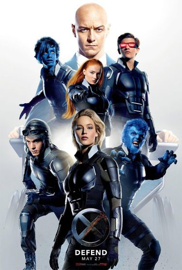 x-men apocalypes poster 4