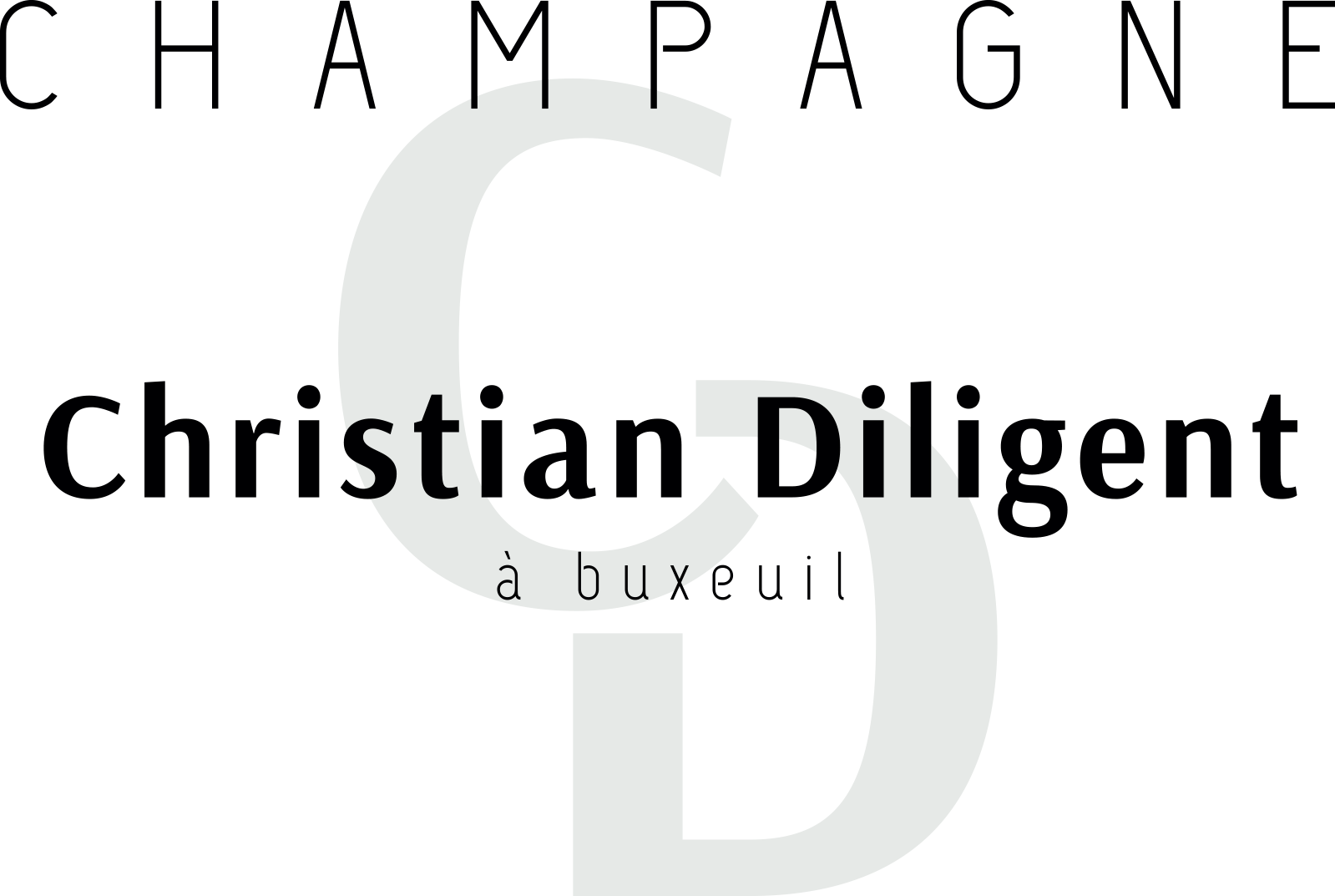 Logo Champagne Christian Diligent 2020.