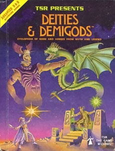 TSR's Deities and Demigods--not the book in question here.