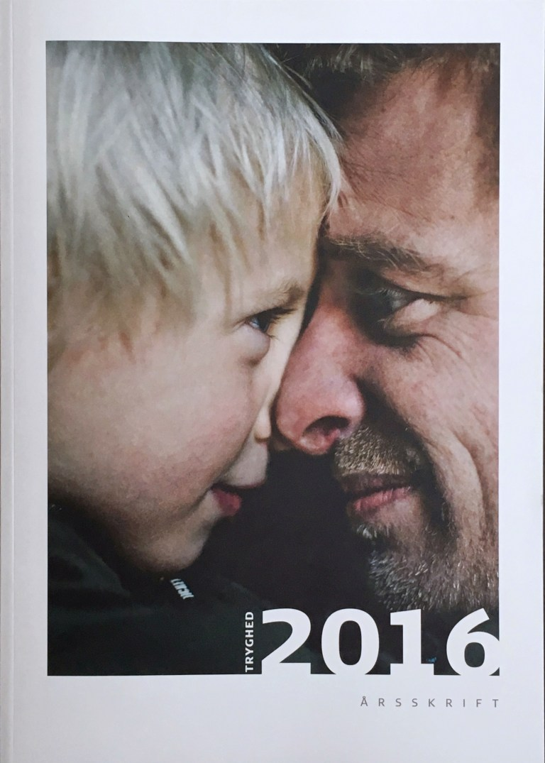 Cover of TrygFondens Year in Review 2016