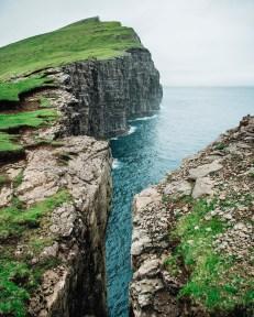 Trælanípan, Faroe Islands