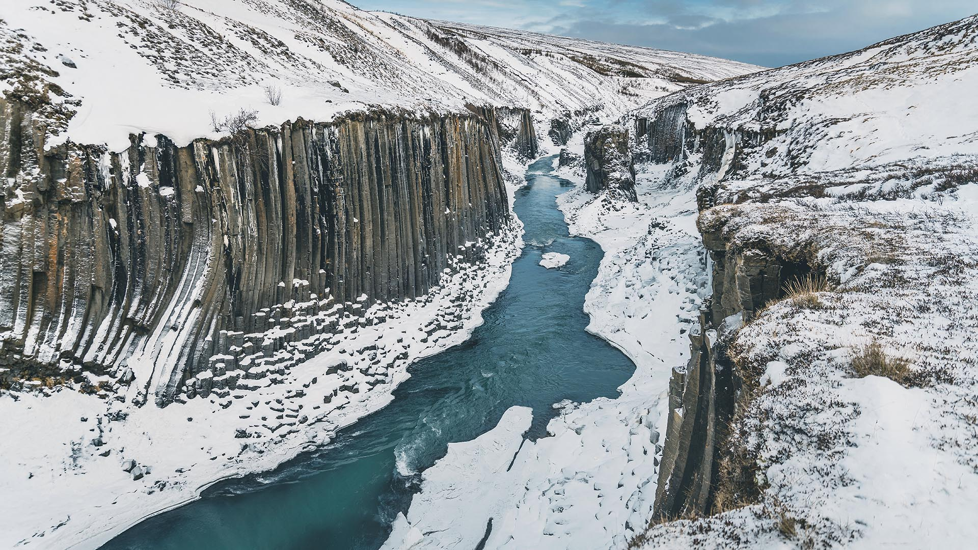 Stuðlagil Canyon, Iceland