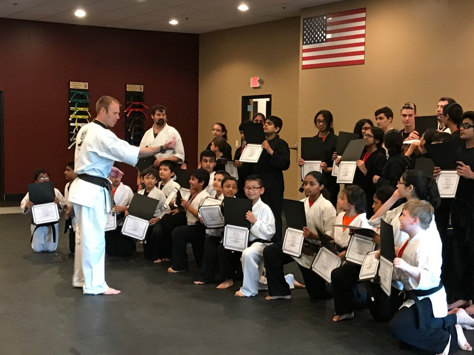 Christian Amyx Black Belt Ceremony