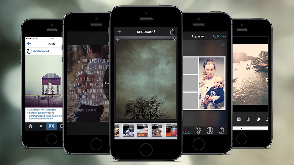 Meine Top 8 iPhone Photo Apps