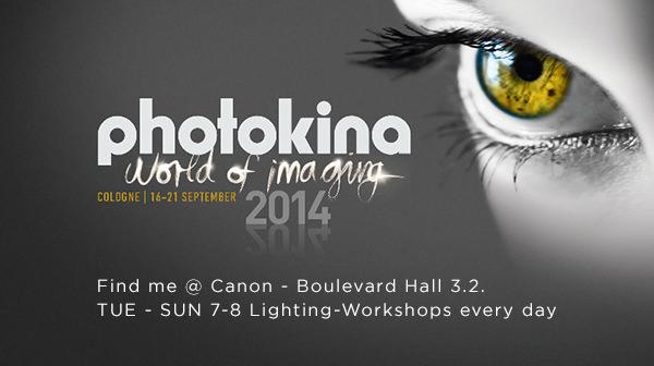 Photokina 2014 mit Canon Europe