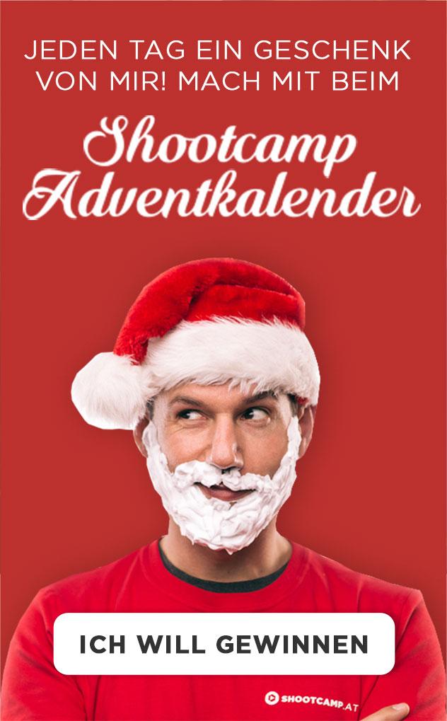 Shootcamp Adventkalender Christian Anderl Weihnachten