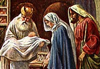 Baby Jesus presented at Tempe.