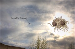 Russell's teapot and Flying Spaghetti Monster image