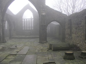 """Misty Church"" - Broken church"