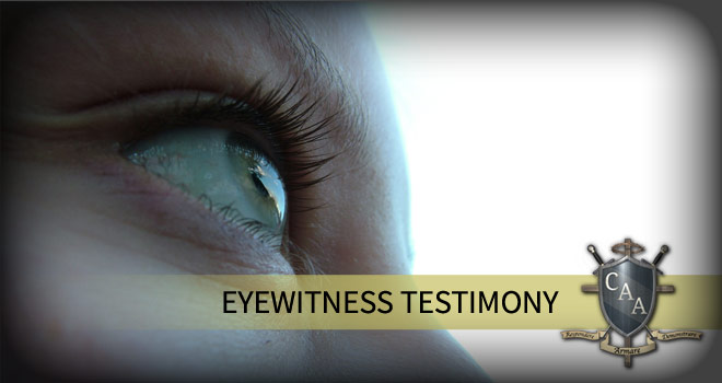 Eyewitness-Testimony
