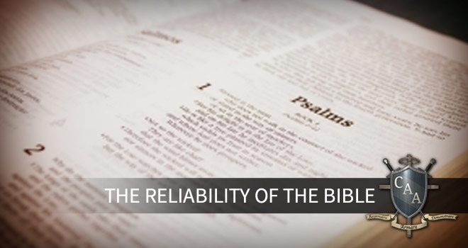 The-Reliability-of-the-Bible