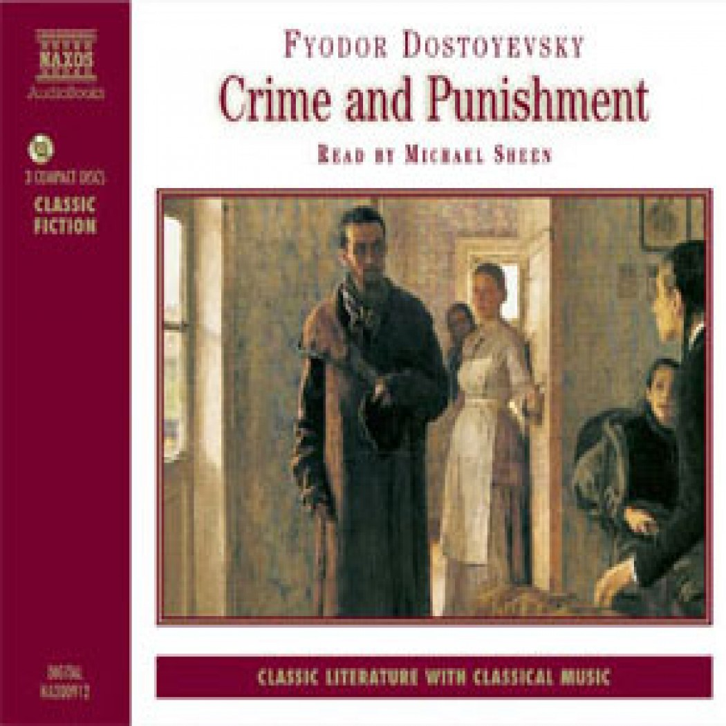 Crime And Punishment By Fyodor Dostoevsky Audiobook