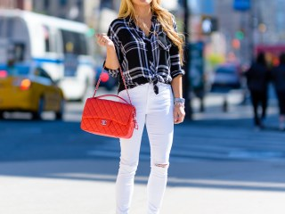 black and white, plaid shirt, rails shirt, white denim, adidas superstar, chanel handbag, mcm sunglasses