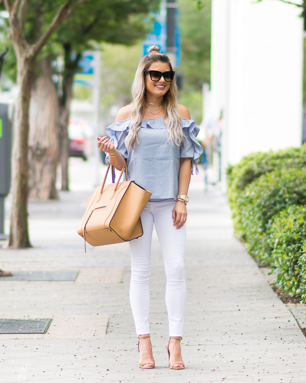 Wayf nordstrom off the shoulder top