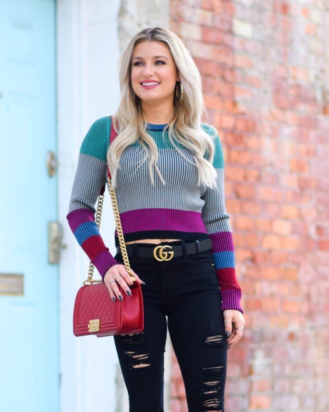 dvf sweater gucci gg marmont belt