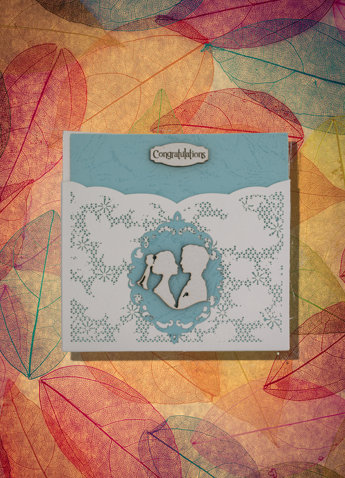 Marriage or Anniversary Greeting Card Square
