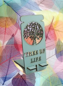 Tree of Life Lazer Engraved MDF stand