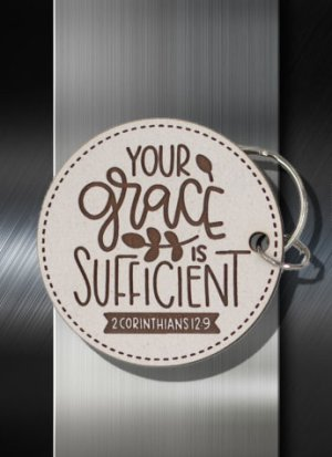 Keyring Your Grace is Sufficient 2 Cor 12 09