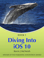 Diving Into iOS 10 book cover