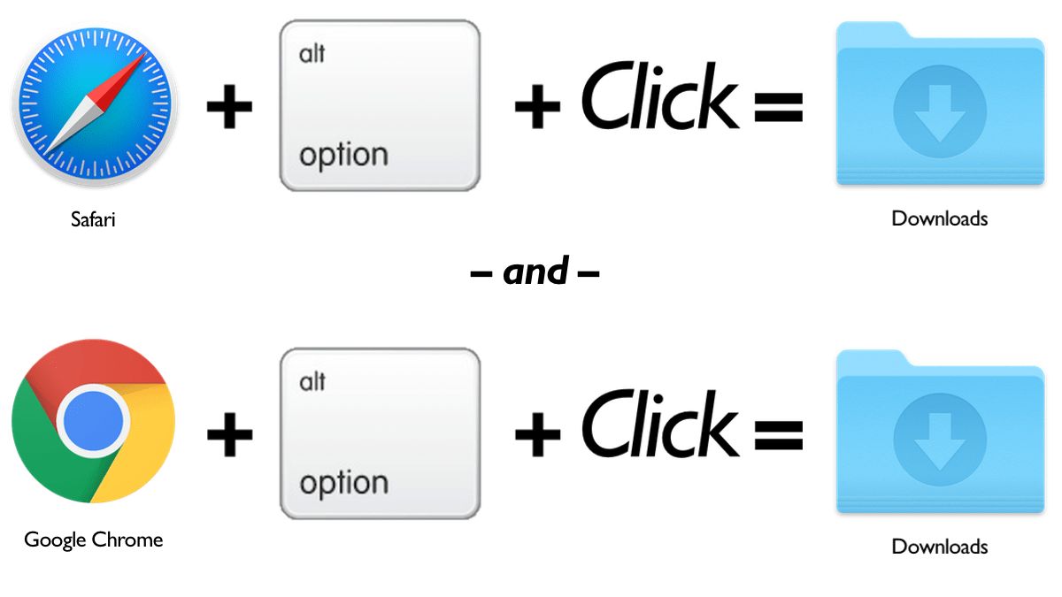 Option Click to download
