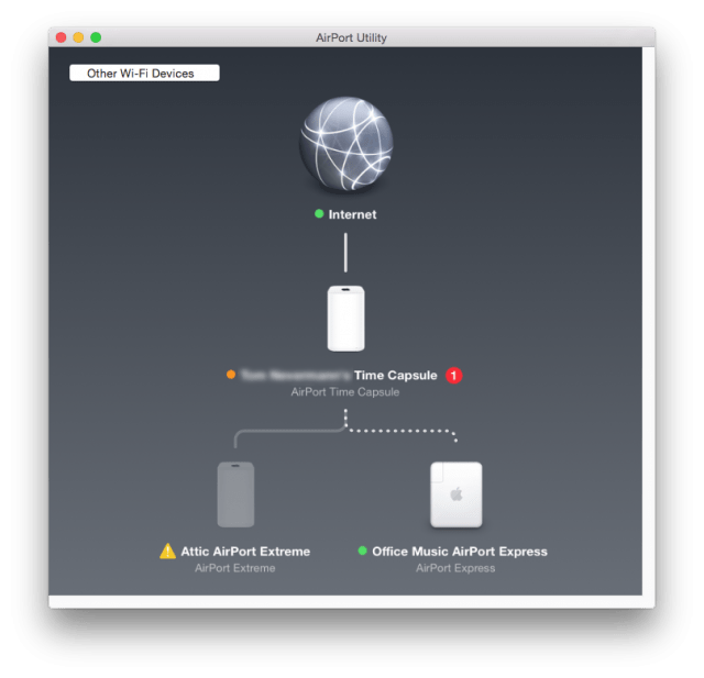 Airport Express after updating firmware
