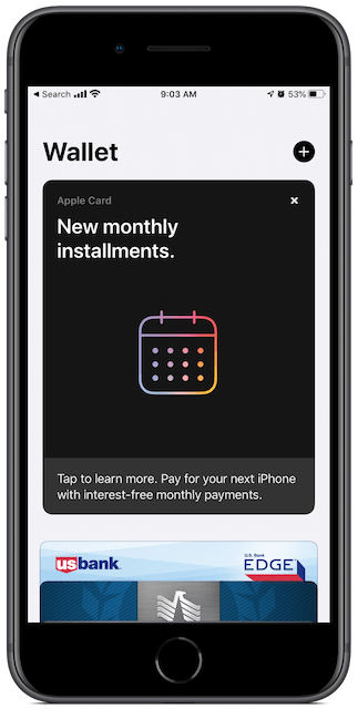 Apple Wallet app
