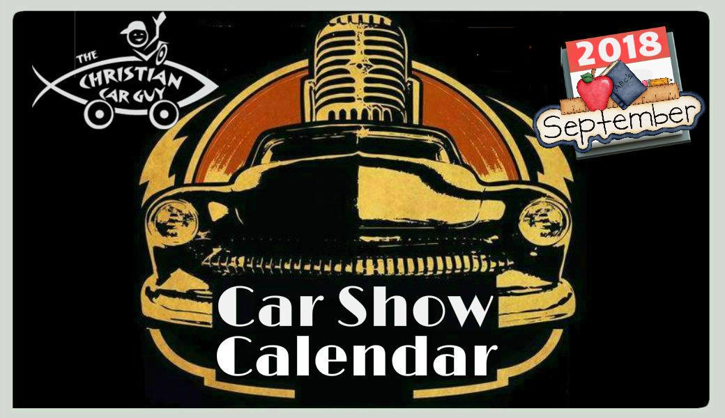 Car Show Calender 2018